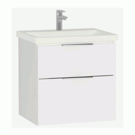 Vitra Ecora 60cm 2 Drawer Washbasin Unit