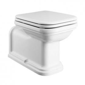 Bauhaus Waldorf Back To Wall 65 WC with Soft Close Seat