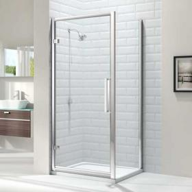 Photo of Merlyn 8 Series Hinged Shower Door & Side Panel