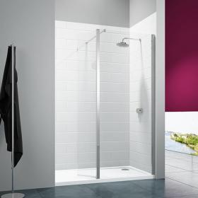 Photo of Merlyn 8 Series Shower Wall With Swivel Panel