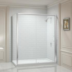 Photo of Merlyn 8 Series Sliding Shower Door & Side Panel