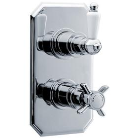 Ultra Beaumont Traditional Twin Concealed Thermostatic Valve - A3033