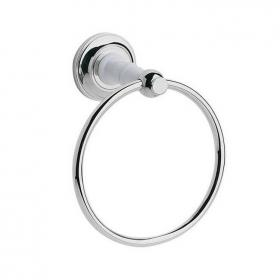 Heritage Clifton Chrome Towel Ring