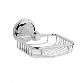 Heritage Clifton Chrome Soap Basket