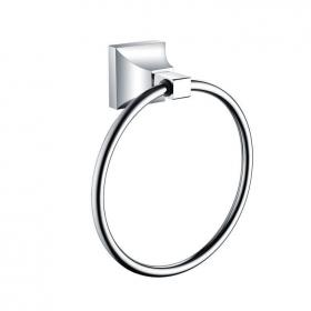 Heritage Chancery Chrome Towel Ring