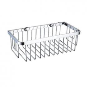 Heritage Chrome Rectangle Wire Basket