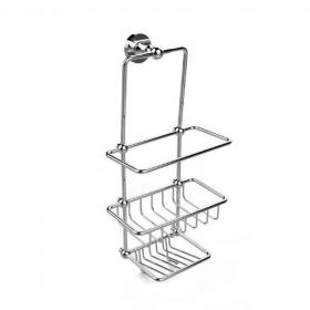 Heritage Chrome Shower Tidy