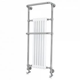 Heritage Cabot Wall Hung Heated Towel Rail Chrome Finish
