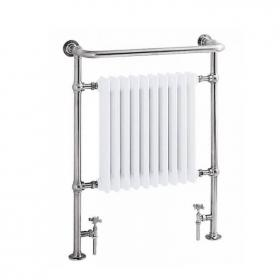 Heritage Clifton Heated Towel Rail Chrome Finish
