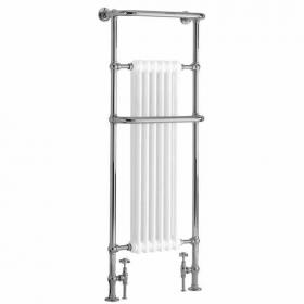 Heritage Cabot Heated Towel Rail Chrome Finish