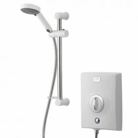 Aqualisa Quartz Electric Shower System - White