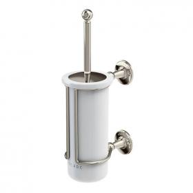 Arcade Nickel WC Brush & Holder