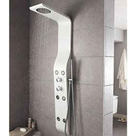 Hudson Reed Glacier Thermostatic Shower Panel - White