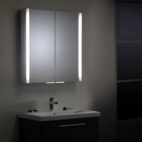 Roper Rhodes Aluminium Summit Bathroom Cabinet with Light