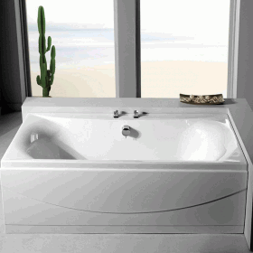 Carron Alpha 1800mm x 800mm Double Ended Bath