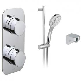 Vado Tablet Altitude Single Outlet Thermostatic Shower Pack