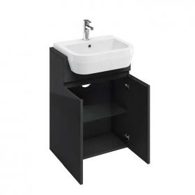 Photo of Aqua Cabinets D300 Fitted Anthracite 600mm Unit & Basin