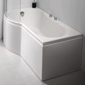 Photo of Carron Arc Curved 1700 x 700mm Shower Bath