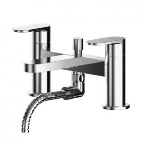 Photo of Asquiths Solitude Deck Mounted Bath Shower Mixer