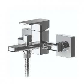 Photo of Asquiths Tranquil Wall Mounted Thermostatic Bath Shower Mixer