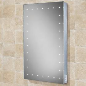 HIB Astral LED Bathroom Mirror with Charging Socket