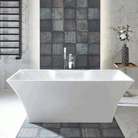 Photo of Phoenix Aurora 1700 x 800mm Freestanding Bath