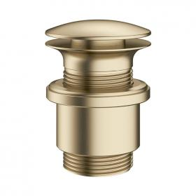 Photo of Crosswater MPRO Brushed Brass Unslotted Basin Waste