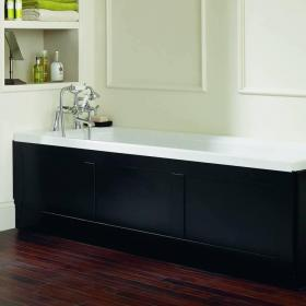 Heritage Granley Deco Acrylic 1700mm Single Ended Fitted Bath