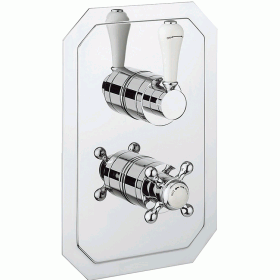 Crosswater Belgravia Lever 1500 Shower Valve 2 Way Diverter - Slimline