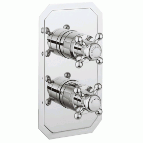Crosswater Belgravia Crosshead 1500 Shower Valve 2 Way Diverter - Slimline