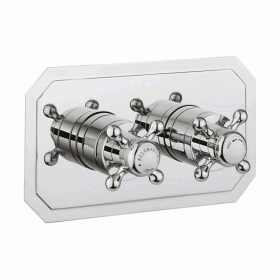 Crosswater Belgravia Crosshead Shower Valve 2 Way Diverter - Slimline