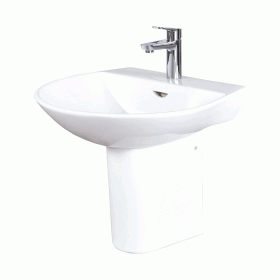 Photo of Phoenix Amore 550mm Basin & Semi-Pedestal
