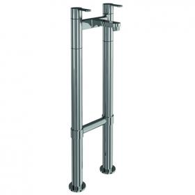 Photo of Britton Bathrooms Crystal Bath Filler With Floor Mounted Legs