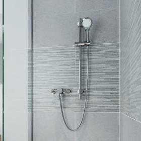 Photo of Bristan Acute Exposed Mini Valve Shower with Riser Kit