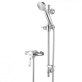 Photo of Bristan Colonial Exposed Shower with Slider Rail Kit