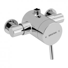 Photo of Bristan Prism Exposed Top Outlet Shower Valve