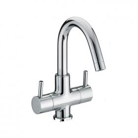 Photo of Bristan Prism Two Handled Basin Mixer