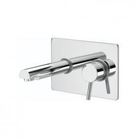 Photo of Bristan Prism Single Lever Wall Mounted Basin Mixer