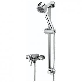 Photo of Bristan Rio Exposed Shower with Slider Rail Kit