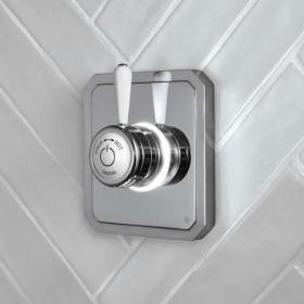 Burlington Classic 1910 Single Outlet Digital Shower Valve - High Pressure