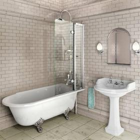 Photo of Burlington Bath Screen With Access Panel