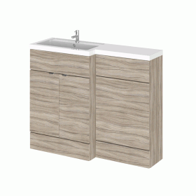 Photo of Hudson Reed Fusion Driftwood 1100mm Combo Unit