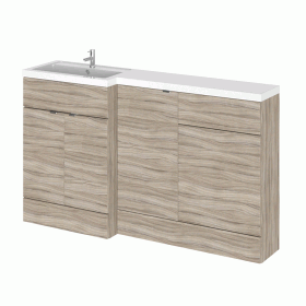 Hudson Reed Fusion Driftwood 1500mm Combo Unit