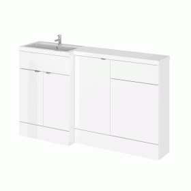 Photo of Hudson Reed Fusion Gloss White 1500mm Combo Unit