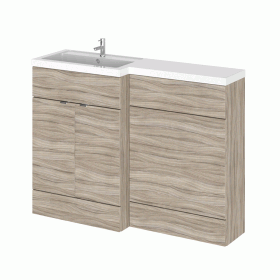 Hudson Reed Fusion Driftwood 1200mm Combo Unit