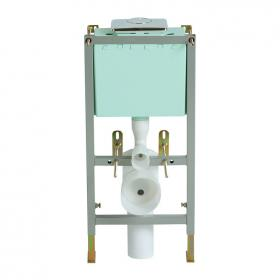 Heritage Wall Hung Frame & Cistern - Top Access