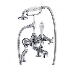 Burlington Claremont Deck Mounted Bath Shower Mixer