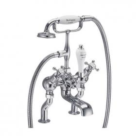 Burlington Claremont Angled Bath Shower Mixer
