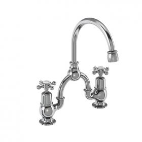 Burlington Claremont Arch Mixer with Curved Spout