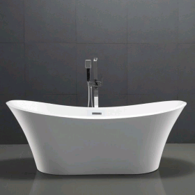 Photo of Phoenix Carissa 1800 x 800mm Freestanding Bath